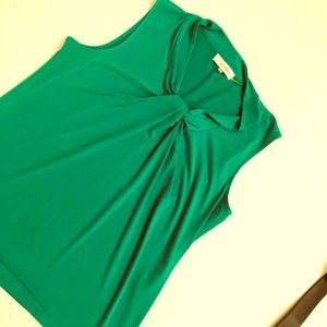 Green Calvin Kline Blouse Size Medium